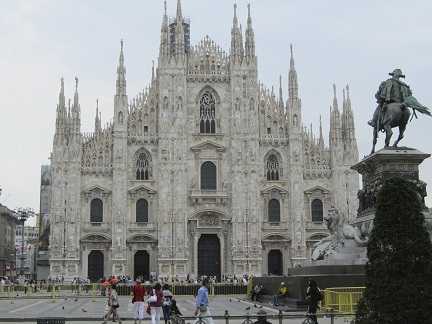 Duomo, Milaan, Italië