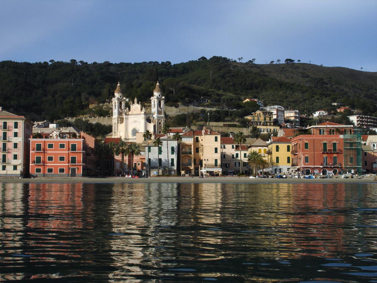 Laigueglia, Ligurië, Italië