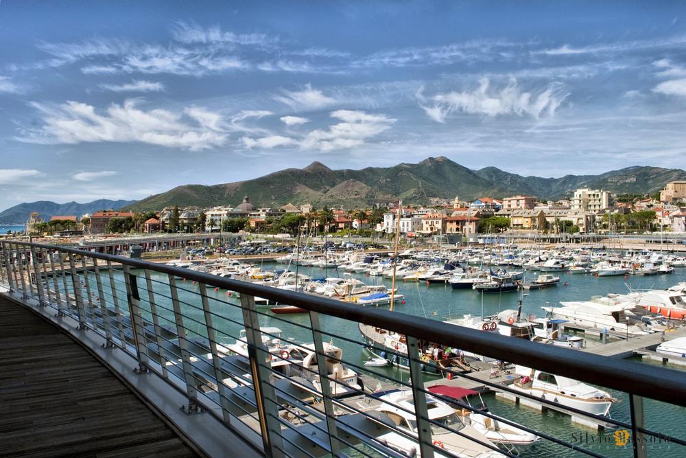 Haven Loano, Ligurië, Italië