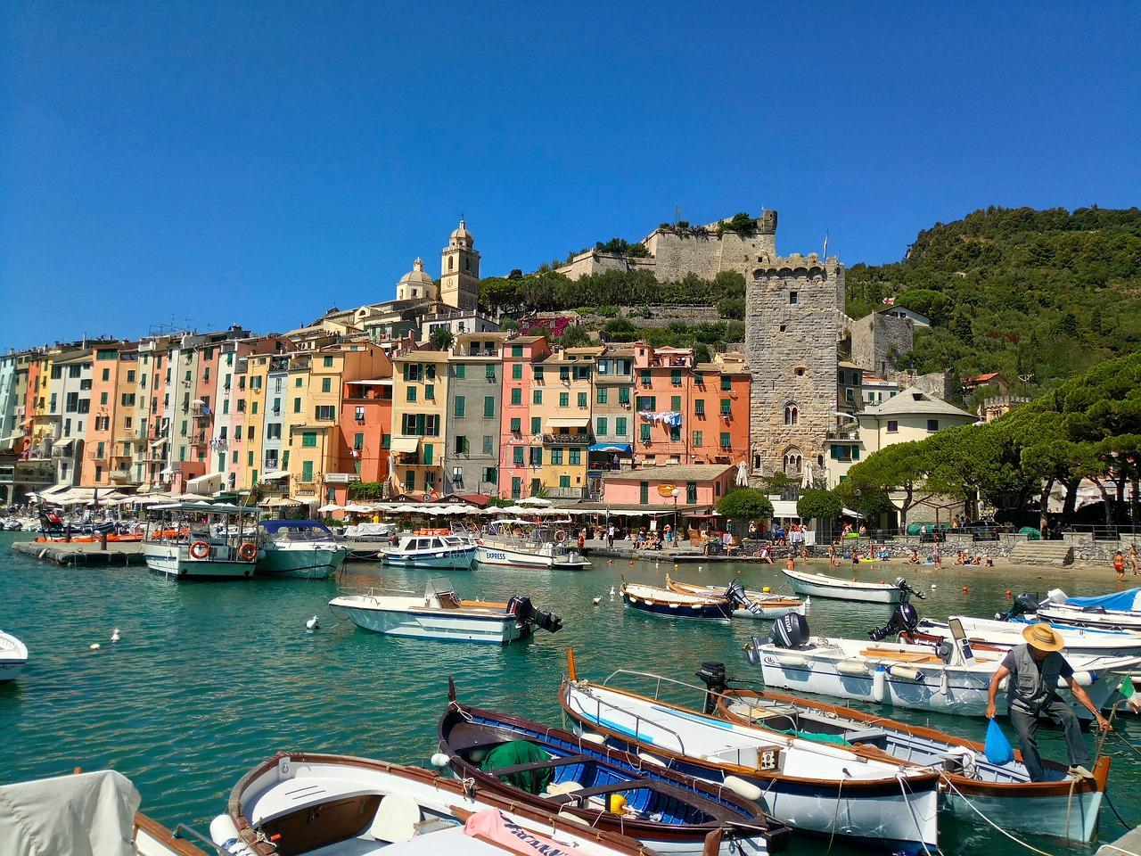 Portovenere, Ligurië,  Riviera di Levante, Italië