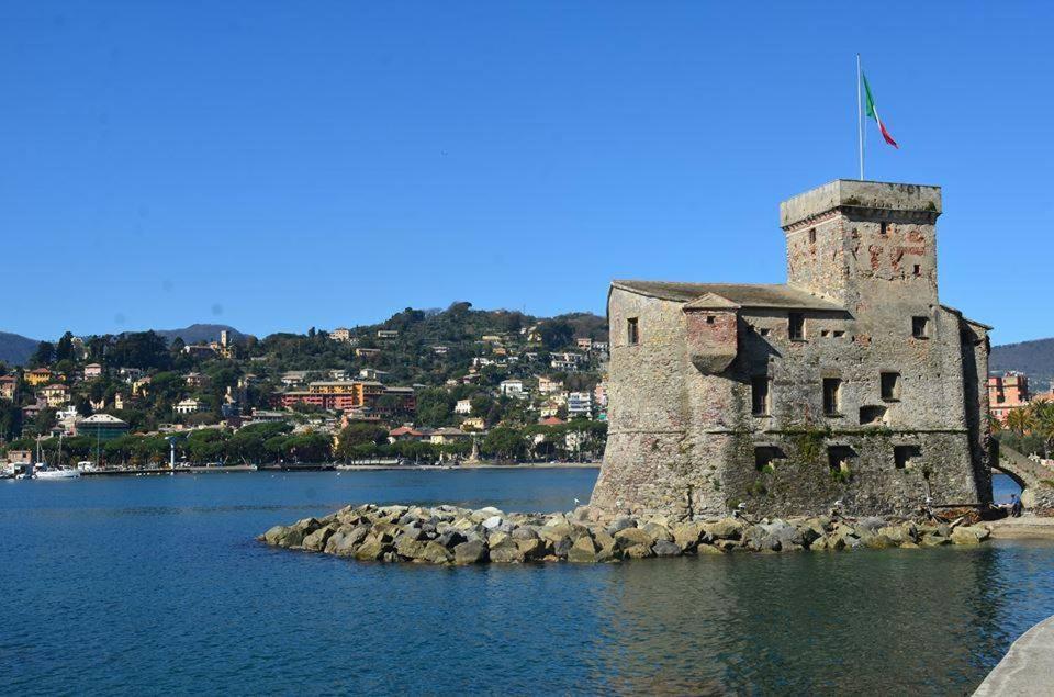 Rapallo, Ligurië, Italië