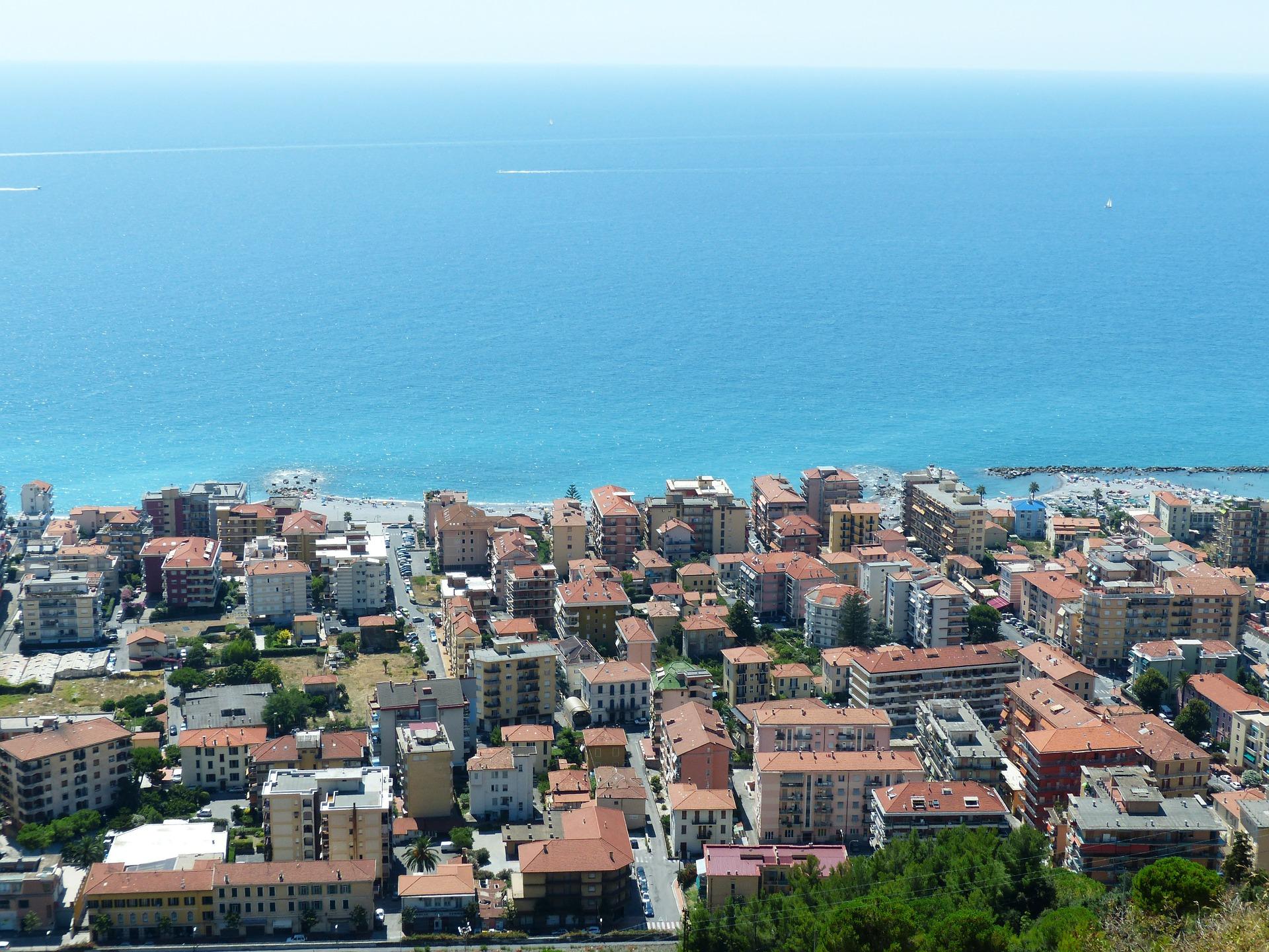 Ventimiglia, Ligurië, Italië
