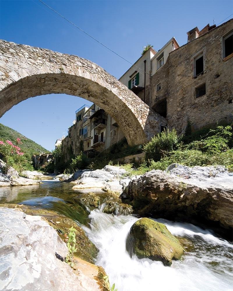 Zuccarello, Ligurië, Italië